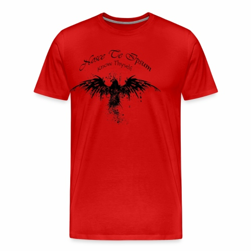 Eagle Splatter Design - Men's Premium T-Shirt