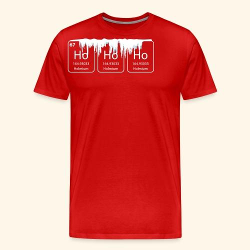 hohoho christmas nerd geek shirt - Men's Premium T-Shirt