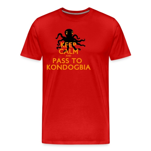 Keep Calm Kondogbia - T-shirt Premium Homme