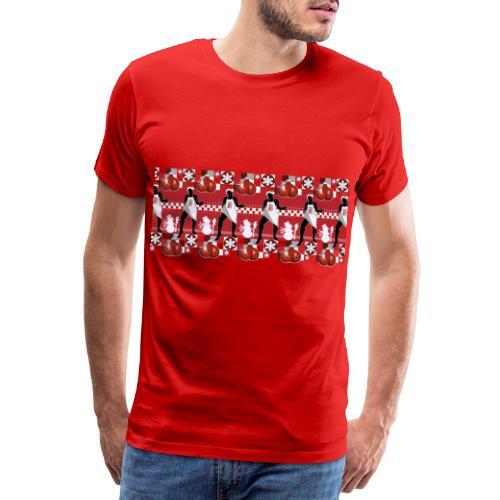 Motif Noël J'ai les boules (sans texte) - T-shirt Premium Homme