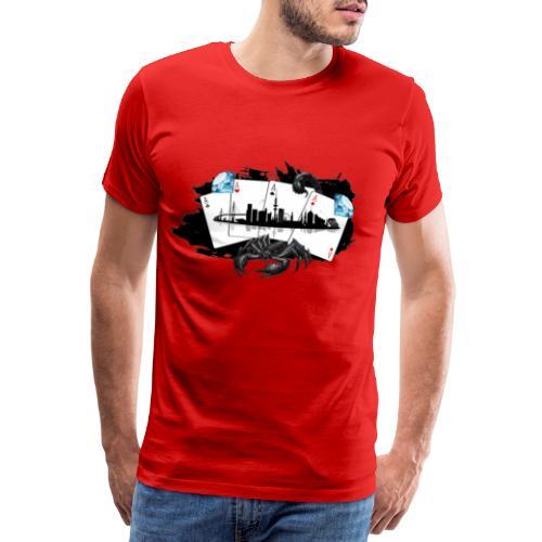 HHskyline - Männer Premium T-Shirt