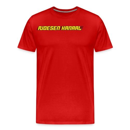 Pjoesen Kanaal - Mannen Premium T-shirt