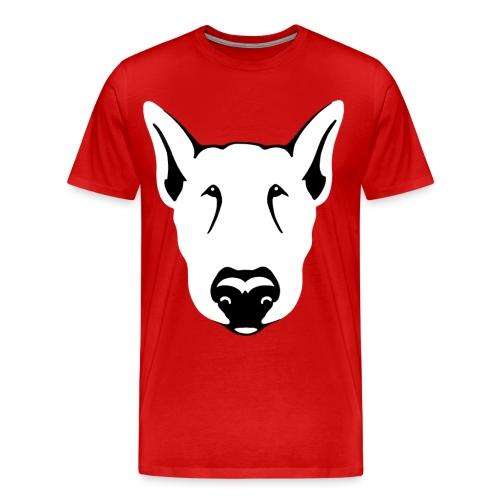 Bull Terrier Head - Men's Premium T-Shirt
