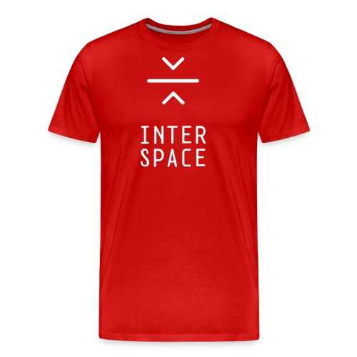 interspace logo 4a - Premium-T-shirt herr