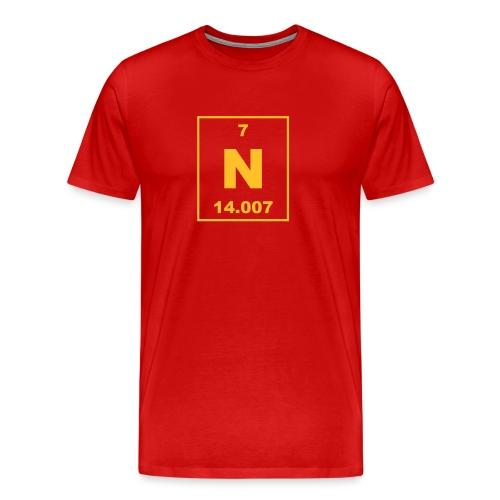 Nitrogen (N) (element 7) - Men's Premium T-Shirt
