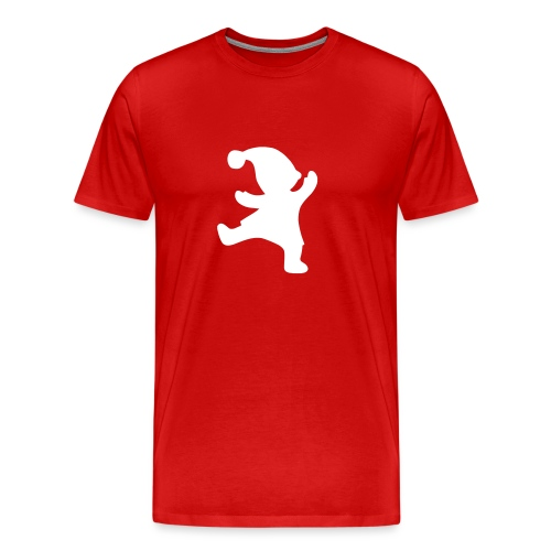 Santas helper - Miesten premium t-paita