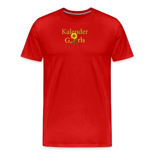 Kalender Girls - Männer Premium T-Shirt