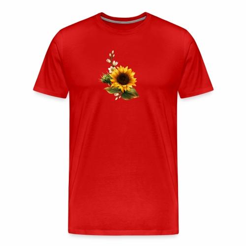 GIRASOL DE VERANO PRECIOSO DISEÑO - Camiseta premium hombre