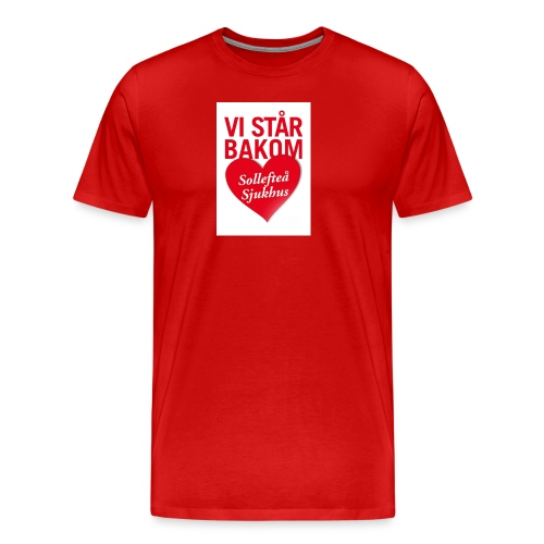 vi-sta--r-bakom-solleftea---sjukhus-1508-2 - Premium-T-shirt herr