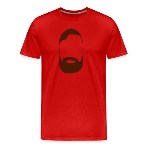 The Mighty Beard - Men's Premium T-Shirt