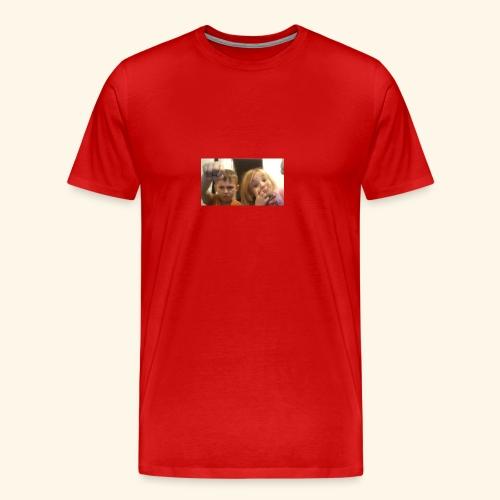 denby fist=nockout - Men's Premium T-Shirt