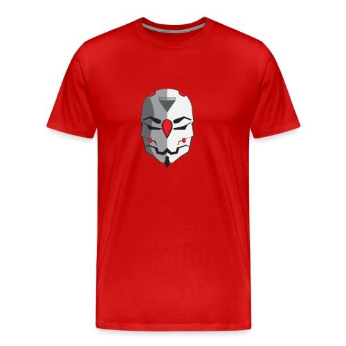 Greyfawkes logo colored - Men's Premium T-Shirt