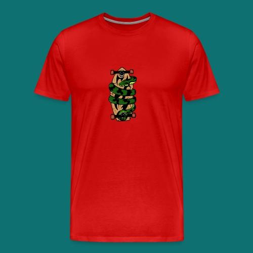 SNAKE - Maglietta Premium da uomo