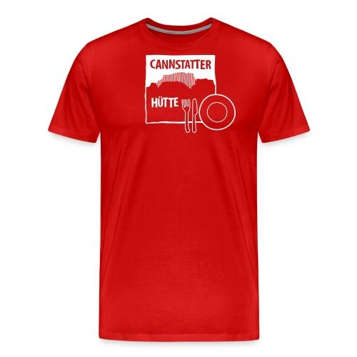 Canstatter Hütte Das Essen - Männer Premium T-Shirt