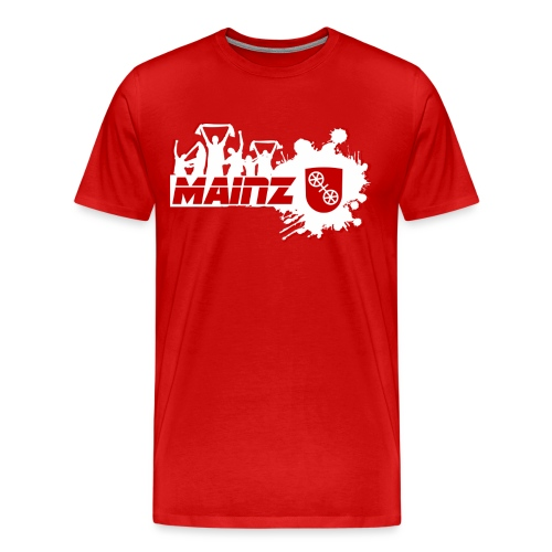 Mainz Fußball Fan - Männer Premium T-Shirt