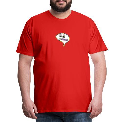 YnglerDuFrækKultur - Herre premium T-shirt