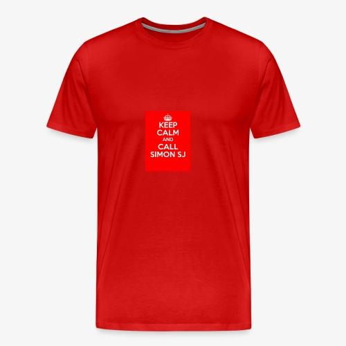 Keep Calm And Call Simon SJ - Premium-T-shirt herr