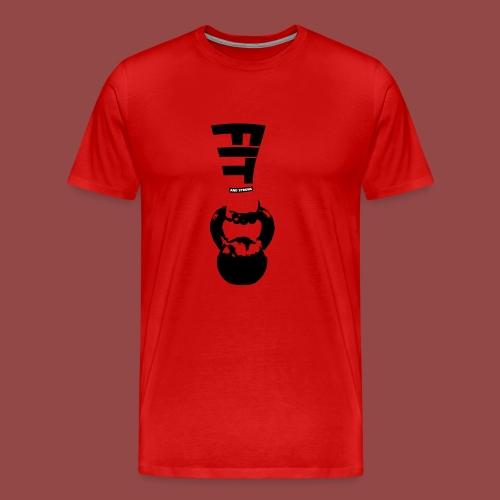 fitandstrong - Mannen Premium T-shirt