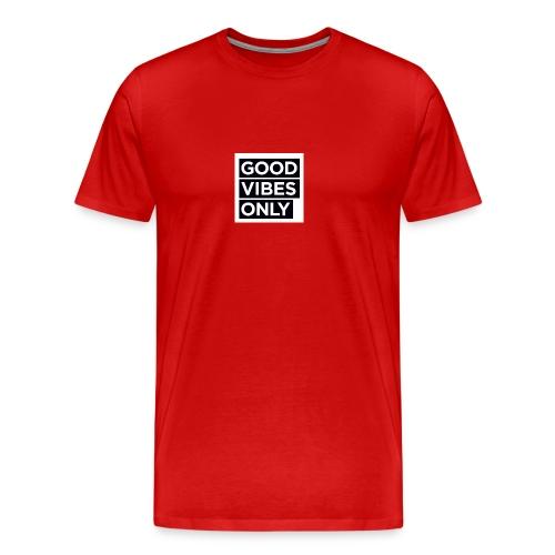 u need good vibes only - Premium T-skjorte for menn