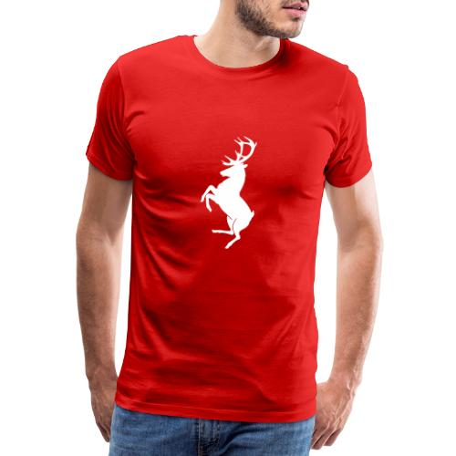 fake ferrari embleme - T-shirt Premium Homme