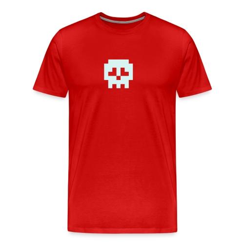 Retro Gaming Skull - Men's Premium T-Shirt