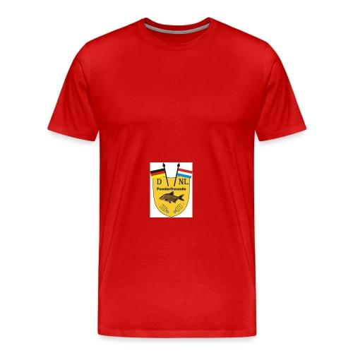 logo feederfreunde deutschlandholland - Männer Premium T-Shirt
