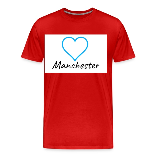 Love MCR Blue - Men's Premium T-Shirt