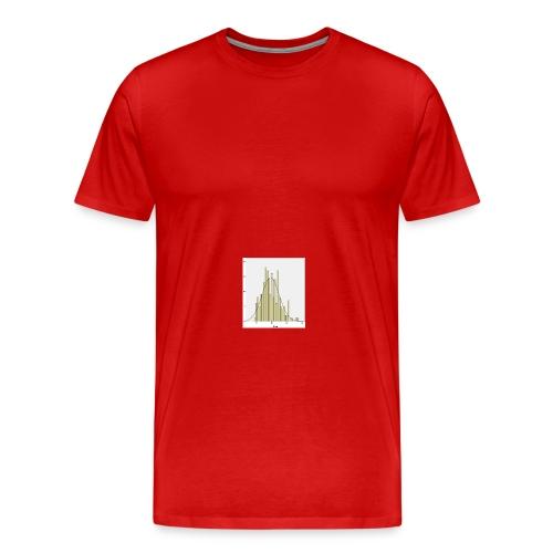 Histogramm NV jpg - Männer Premium T-Shirt