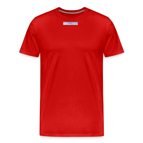 Larger MI logo png - Men's Premium T-Shirt