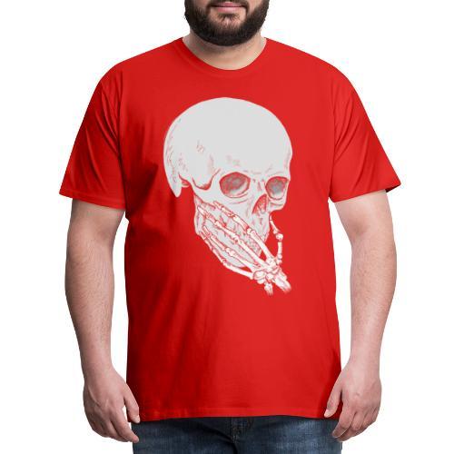 Skalle - Premium T-skjorte for menn