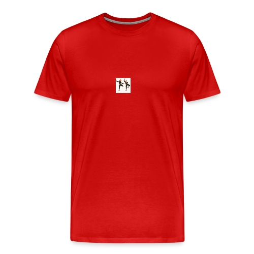 on the dabbing grind - Men's Premium T-Shirt