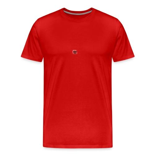 The ItsMlgJelly Logo shirt in grey - Men's Premium T-Shirt