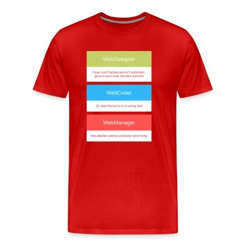 Plakat - Männer Premium T-Shirt