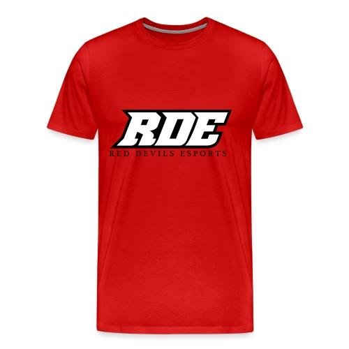 RDE Logo Schwarzweis png - Männer Premium T-Shirt