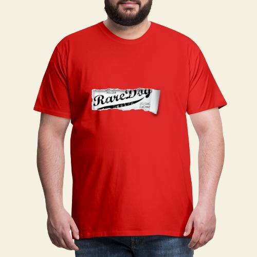 ripped paper - Herre premium T-shirt