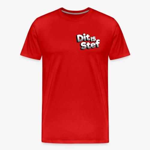 Dit is Stef Logo - Mannen Premium T-shirt