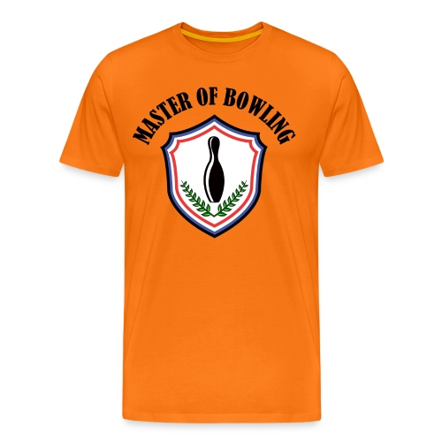 Master Of Bowling - T-shirt Premium Homme