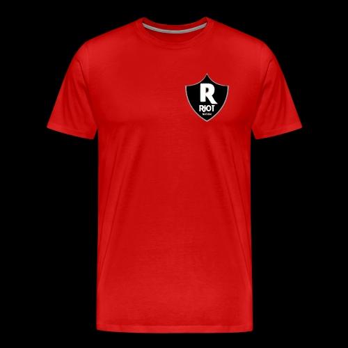 riot Nation logo schwarz - Männer Premium T-Shirt