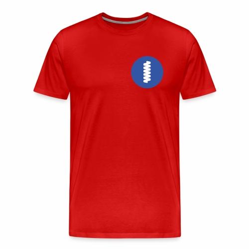 logomark in circular blue - Men's Premium T-Shirt