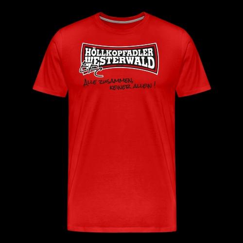 EFC Hoellkopfadler Westerwald - Männer Premium T-Shirt
