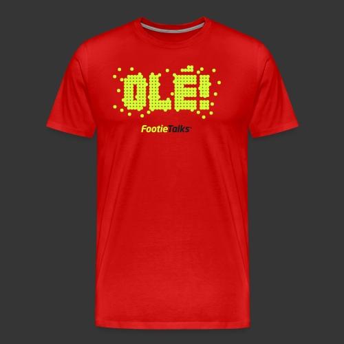 FootieTalks® Olé - Men's Premium T-Shirt