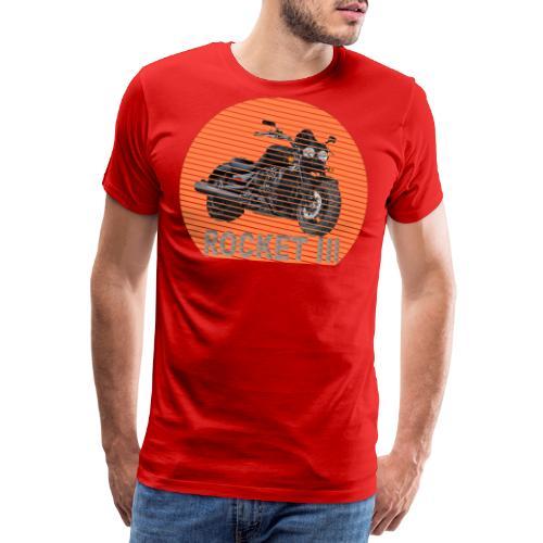 Rocket III Roadster X Sun - Sonne - Männer Premium T-Shirt