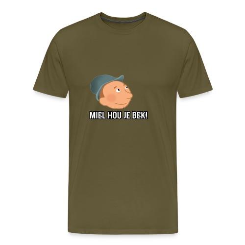 mielwiljealsjeblieftjemonddankjewelnamensrick - Mannen Premium T-shirt