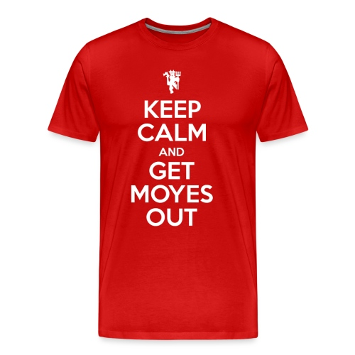 Keep Calm White png - Men's Premium T-Shirt