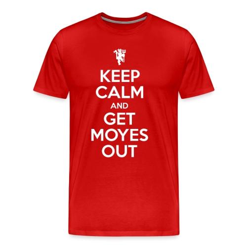 Keep Calm White png - Men's Premium T-Shirt
