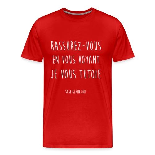 rassurez png - T-shirt Premium Homme