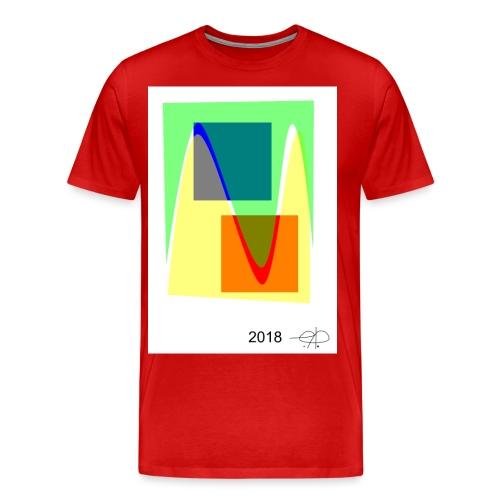 Abstract20180510 - Herre premium T-shirt