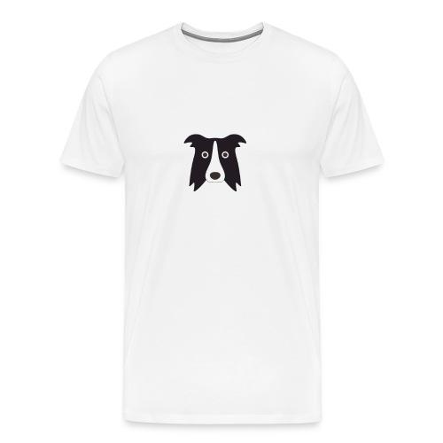 border bianco - Maglietta Premium da uomo
