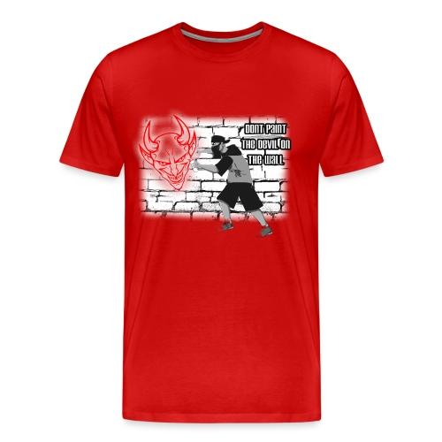 Sprayer Dont paint Devil - Männer Premium T-Shirt