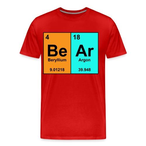 Science Bear Tee - Men's Premium T-Shirt